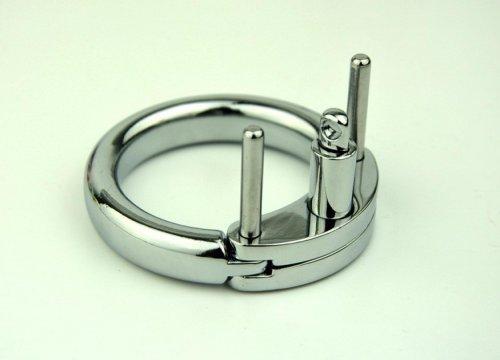 Male Chastity Belt Accessories Cock Cage Metal Cock Ring Adult For CB6000 Stainless