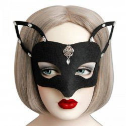 1pc 2017 Hot New Girls Women Hot sales Black Sexy Lady Mask Cutout Eye Mask for