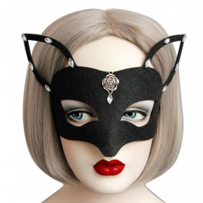 1pc 2017 Hot New Girls Women Hot sales Black Sexy Lady Mask Cutout Eye Mask for