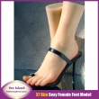 High quality Full silicone sex doll woman shoe mold silicone feet model size 37