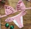 2017 New Sexy Bikinis Women Swimsuit Ruffle Bathing Suits Swim Bralette Push Up