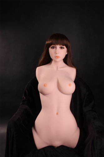 Half body real sex fuck doll