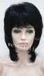 Wig Women Fashion medium Natural Wavy Full Hair Fluffy Hair Wigs