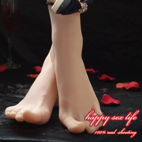 Newest silicone girls ballerina dancer gymnast foot feet pointed toes fetish to