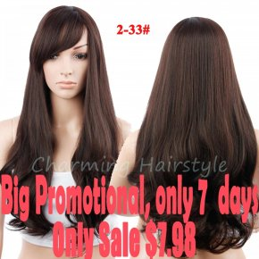 Ombre Wig Synthetic Wigs For Black Women With Bangs Long Curly Hair Natural Cheap