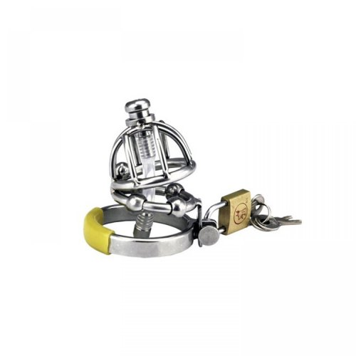 Stainless steel male chastity device metal CB6000S cock cage steel chastity cage