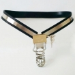 Stainless Steel Male Chastity Belt with Penis Locking Devices Fully Adjustable Y