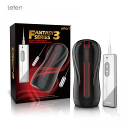 Leten Fantasy Series 3 Dual Engine 10 Modes Vibration Electric Hip Male Hands Free