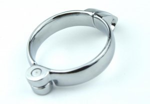 1 PC Adult supplies offbeat toys stainless steel male chastity belt lock clasp,cock