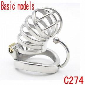 Latest Design Basic models Steel chastity belt stainless steel penis lock chastit