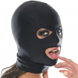 Soft Blindfold HOOD,Open Mouth Mask, Gag, Bondage, Fetish, BDSM, Role Play, Unisex Adult Cosplay Sex Toys for Couples Woman