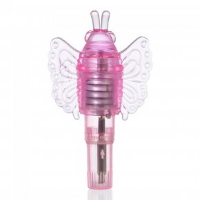 "Butterfly G -Spot Nipple Stimulation Vibrator Single Speed Waterproof L3.5"" Mini"