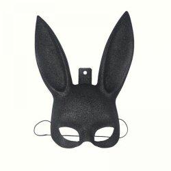 1Pcs Masquerade Rabbit Mask Sexy Bondage Bunny Long Ears Carnival Halloween Costume
