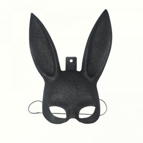 1Pcs Masquerade Rabbit Mask Sexy Bondage Bunny Long Ears Carnival Halloween Costume