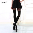 Spring Summer New Sexy Black Lace Silk Stockings Pantyhose Tattoo Mock Bow Suspender