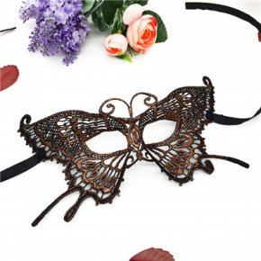 PF Sexy Women Lace Mask Butterfly Half Face Eye Masks Mascara Halloween Carnival