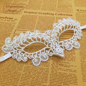 White peacock Mask Lace Party Sexy Mask Masquerade Mask Dress Venetian Carnival