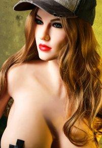 168cm US beautiful girl big breast silicone sec doll