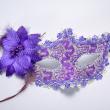 Upper for Party half face Mask Masquerade Hallowmas Venetian Masks Sexy Women Flower
