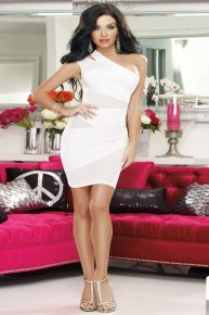 white chemise frock