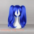 MCOSER Kagerou Project-Enomoto Takane 45cm Blue Ponytails Wig Synthetic High Qualit