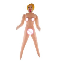 26'' mini Size Inflatable Doll Silicone Pussy Anal Sex Doll Male Masturbation Sex
