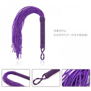 New Arrival Spanking Purple Whip Sex Toys For Sex Adults Game Punishment Hand-Made