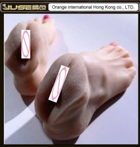 Top Quality Foot Fetish Toys,Solid Silicone Vagina Feet,Adult Toys for Adult,Lifelik