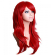 70 Cm Harajuku Anime Cosplay Wig Long Curly Wavy Synthetic Hair Wigs Red Blonde