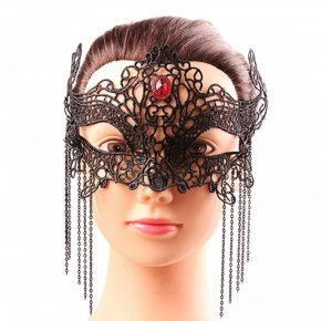 1PCS Hot Sales Halloween Black Sexy Lady Lace Mask Eye Mask For Masquerade Part