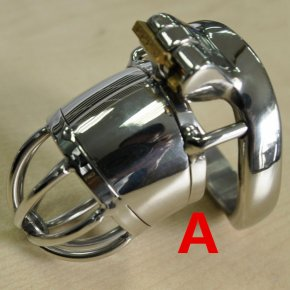 Hot 45mm Stainless Steel Male Chastity Belt Super Small Cage Steel Cock Cage Chastit
