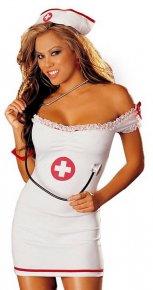 Sexy White Nurse Costume