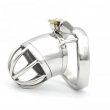 New lock With Arc-shaped Ring 45mm*33mm Male Chastity Device Adult Cock Cage Sex