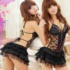 Hot Sell Lady\'s Lingerie Sexy Hot Erotic Backless Babydoll Mini Dress Underwear