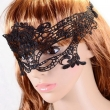 Sexy Lady Black Lace Mask hollow out Catwoman Batman veil Halloween Masquerade new