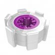 YouCups Protable Purple Universal Ring Super Comfortable Masturbators Body Massager