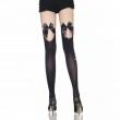 Hot Black Super Sexy Women Thin Thigh High Silk Stockings Female Stocking Thick