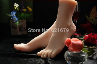 Top Quality New Sex Products,Soft Feet Fetish Toys for Man,Young Girl Lifelike Femal