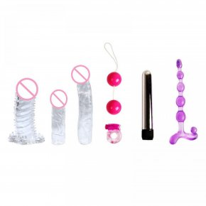 BAILE Erotic Sex Toys Love Kits For Couples Sex Products For Woman Bullet Vibrator