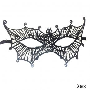 1 pcs Party Lace Masks Women Sexy Halloween Masquerade Party Spider Shape Half Face