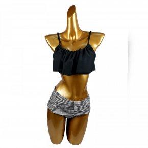 Summer push up new bikini sexy Lotus leaf edge swimsuit bathing suit women high