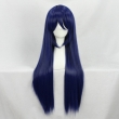 80CM Anime Love Live ! LoveLive! Sonoda Umi Cosplay Wig Mixed Blue Long Synthetic