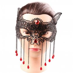 1PCS Black Women Sexy Lace Eye Mask Party Masks For Masquerade Halloween Venetian