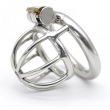 Latest Design New Lock Stainless Steel Male Chastity Device Metal Chastity Belt