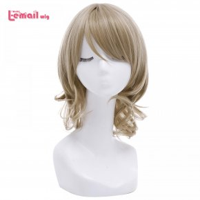 L-email wig 2016 Women Short Cosplay Wigs Love Live!Sunshine!! Watanabe You Light