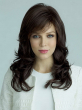 Hot Sale Synthetic Celebrity Brown Black Hair Long Wavy Afro American Wigs For Women