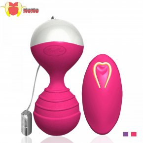 Silicone Kegel Balls Wireless Remote Control vibrator Smart Love Geisha Ben wa ball