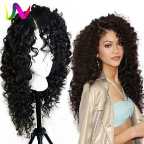 Long Lace Front Wigs Synthetic For Black Women Fast Shipping Synthetic Lace Front