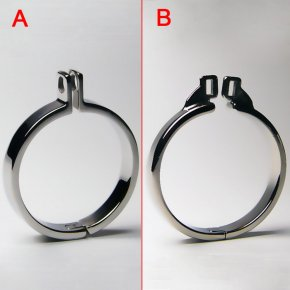 Stainless Steel Cock Rings Metal Cock Cage Chastity Belt Bondage Gear For Men Penis