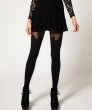 Mystere Seduction Pure Silk Stockings - Sexy Rare Luxury S M L Black Ivory